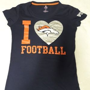VS PINK Denver Broncos shirt